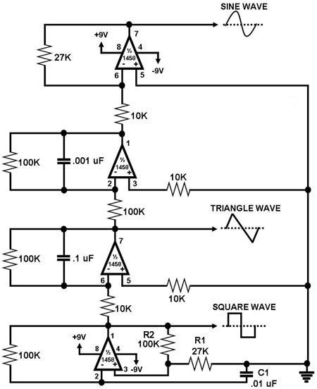 Electronic projects simple function generator circuit asfbconference2016 Images
